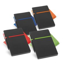 Carnet de notes simili-cuir avec stylo