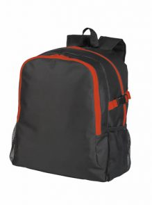 Sport Backpack Black And Match