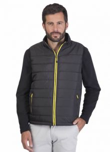 Bodywarmer tendance Balck And Match
