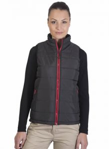 Bodywarmer Femme tendance Black And Match
