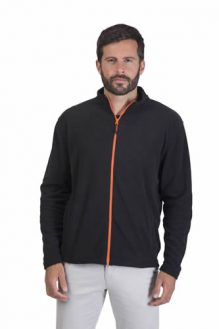 Micro polaire Homme Gamme Black And match