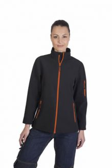 Veste SoftShell 3 couches femme Gamme Black and Match