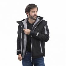 veste Technique 3 en 1 Gamme Black And match