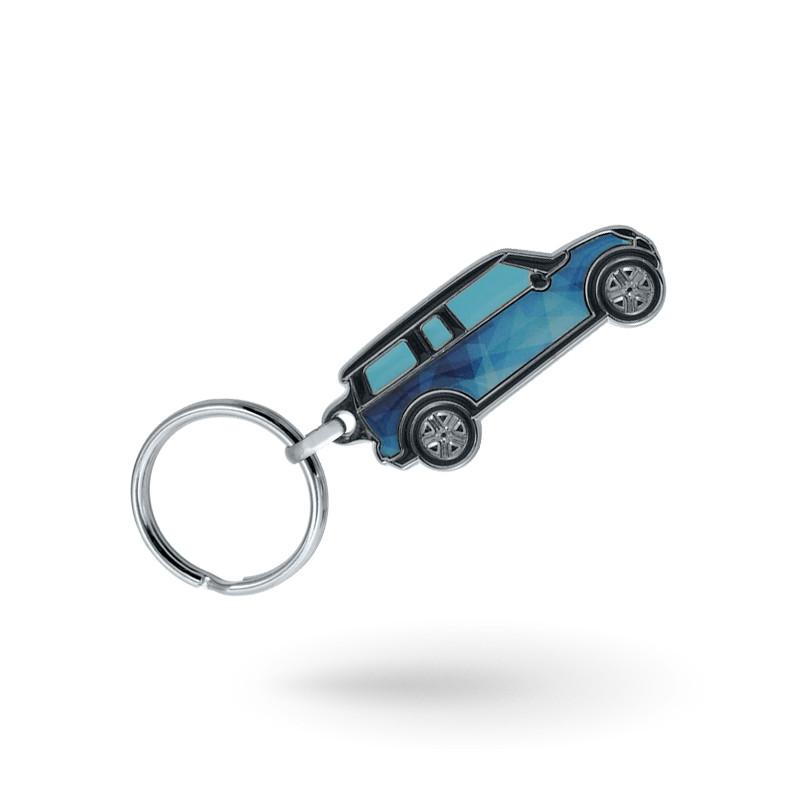 Porte-clés sur mesure métal aluminium
