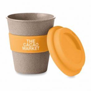 Mug réutilisable en fibres de bambou