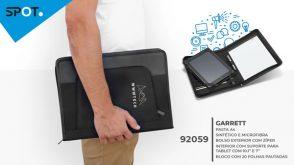 Conférencier, tablette, bloc-notes