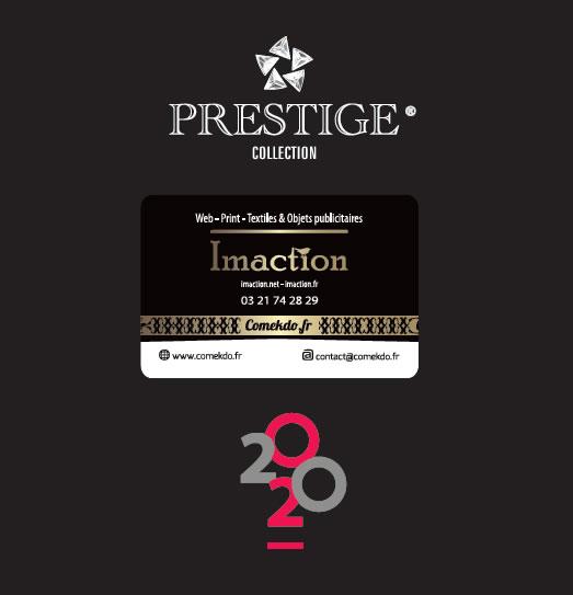 Catalogue écriture gamme prestige