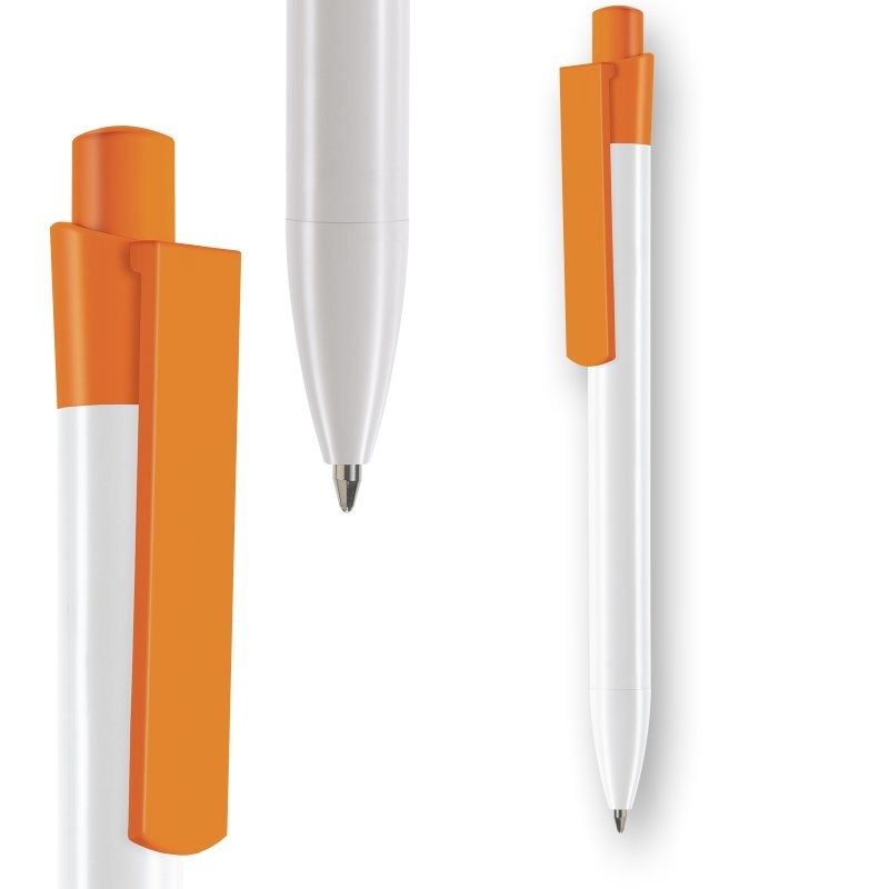 Stylo bille E-Infinity Recycled White made in Europe