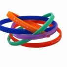 Bracelet silicone ultra fin 5mm
