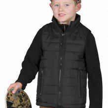 Bodywarmer enfant tendance de ville Black&Match